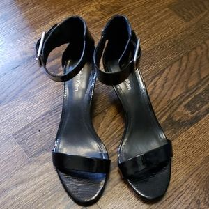 BRAND NEW/ NEVER WORN Calvin Klein black sandals